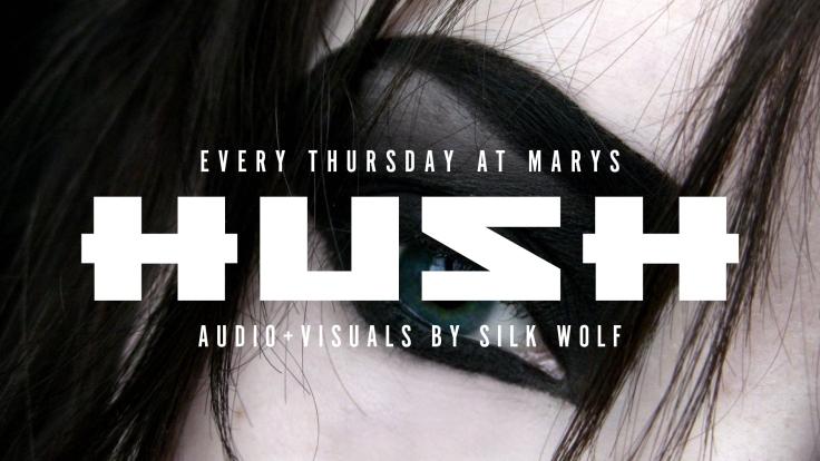 HUSH - Facebook Event Header